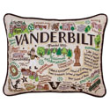Vanderbilt Embroidered Pillow