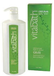 Vitabath Original Spring Green Moisturizing Bath & Shower Gelee (32 oz)