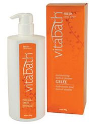 Vitabath Fresh Citrus Twist Moisturizing Bath & Shower Gelee (32 oz)