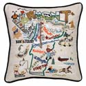 Vermont Embroidered Pillow
