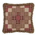 Everson Ruffled Quilted Euro Sham