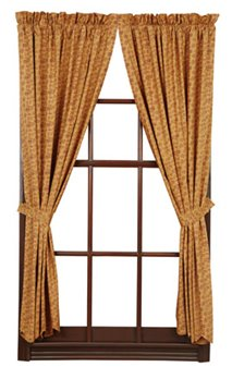 Lewiston Scalloped Short Panels 63 x 36