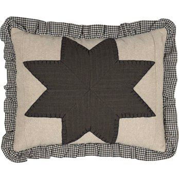 Liberty Stars Patchwork Pillow 14 x 18