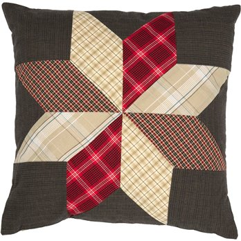 Liberty Stars Patchwork Pillow 18 x 18