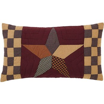 Folkways Star King Sham Quilt