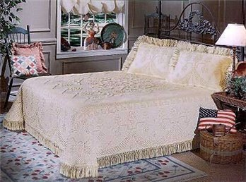 George Washington Bedspread Twin Antique Bedspread