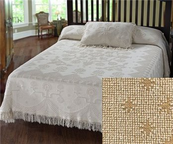 George Washington Bedspread Queen Linen