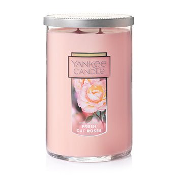 Yankee Candle Fresh Cut Roses Large 2 Wick Tumbler Candle