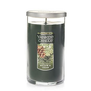 Yankee Candle Balsam & Cedar Medium Perfect Pillar Candle