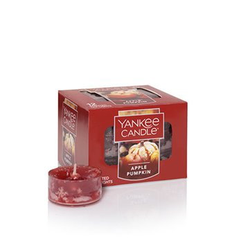 Yankee Candle Apple Pumpkin Tea Lights Box of 12