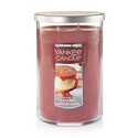 Yankee Candle Caramel Apple Cake Large 2 Wick Tumbler Candle