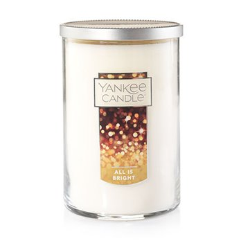 Yankee Candle All is Bright 2-wick Large Cylinder Candle | P. C. Fallon Co.