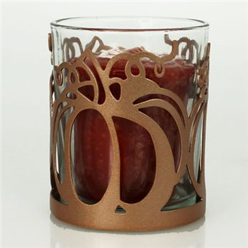 Yankee Candle Copper Pumpkin Votive Holder