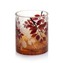 Yankee Candle Crimson Autumn Crackle Votive Holder
