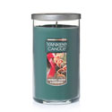 Yankee Candle Aromatic Orange & Evergreen Medium Perfect Pillar Candle | P. C. Fallon Co.