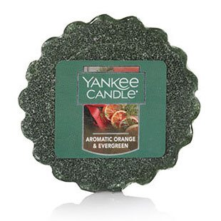 Yankee Candle Aromatic Orange & Evergreen Wax Tarts Potpourri | P. C. Fallon Co.