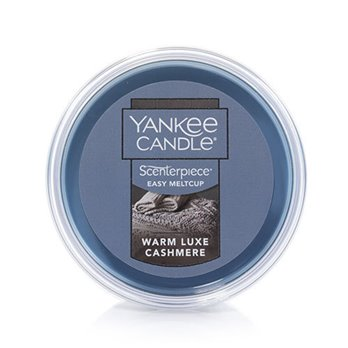 Yankee Candle Warm Luxe Cashmere Scenterpiece Easy MeltCup
