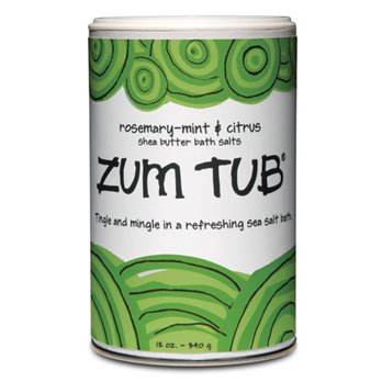 Zum Tub Rosemary Mint Citrus Bath Salts