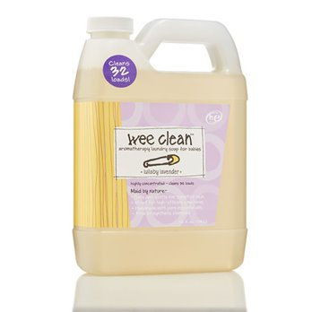 Zum Wee Clean Lullaby Lavender Laundry Soap for Babies (32 oz)