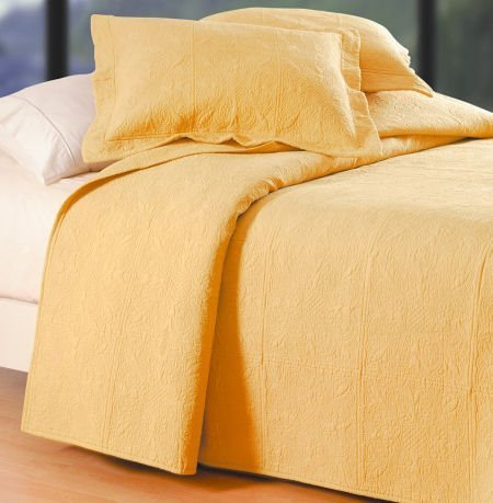 Solid Color yellow Cornsilk Quilt Bedding from C&F : solid color quilts for bedding - Adamdwight.com