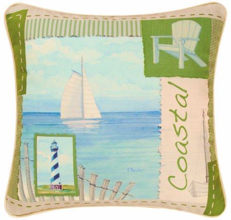 Coastal Treasure Quilt Pattern Bedding from C&F