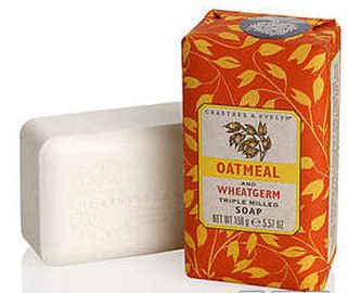 Oatmeal and Wheatgerm Triple Milled Soap by Crabtree & Evelyn (5.57 oz bar)