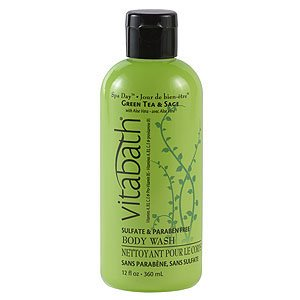 Vitabath Spa Day Green Tea & Sage Body Wash (12 fl oz)