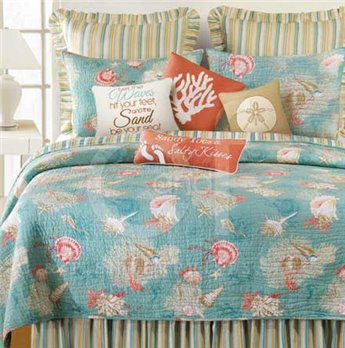 Santa Catalina Twin Quilt