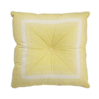 Waverly Paisley Verveine Tufted Stripe Decorative Accessory Pillow