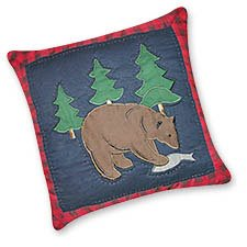 Timberline Bear Pillow