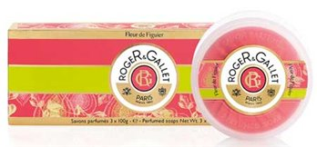 Roger & Gallet Fleur de Figuier Soaps Box of 3 (3 bars, each 3.5 oz., 100g)