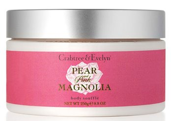 Crabtree & Evelyn Pear and Pink Magnolia Body Souffle (8.8 oz, 250g)