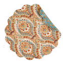 Mandalay Round Quilted Placemat