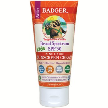 Badger SPF30 Kids Sunscreen
