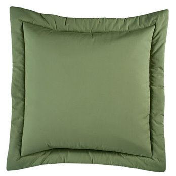 Jamaican Sunset Euro Sham Leaf Green