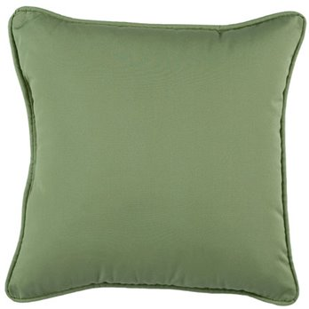 Jamaican Sunset Square Pillow Leaf Green