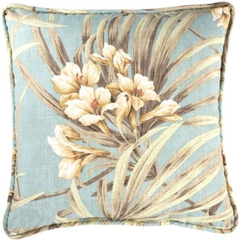 Martinique Print Square Pillow