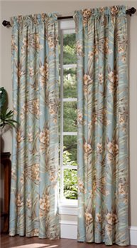 Martinique Rod Pocket Curtains