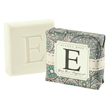 Gianna Rose Letter E Monogram Bar Soap