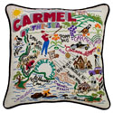 Carmel Embroidered Pillow