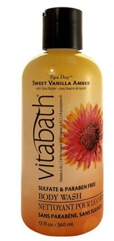 Vitabath Spa Day Sweet Vanilla Amber Body Wash (12 fl oz)
