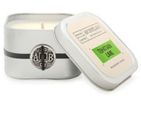 Archipelago Tahitian Lime Square Tin Candle