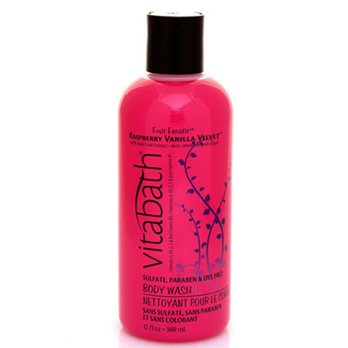 Vitabath Fruit Fanatic Raspberry Vanilla Velvet Body Wash (12 fl oz)