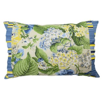 Floral Flourish 14x22 Main Print Decorative Pillow