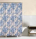 Indigo Sound Shower Curtain