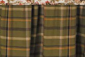 Jocelyn Plaid Queen Bedskirt