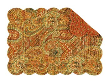 Tangiers Rectangular Quilted Placemat