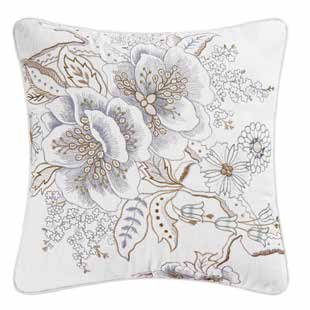 Jesamine Embroidered Pillow