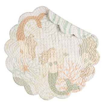 Mystic Echoes Round Quilted Placemat