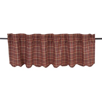 Parker Scalloped Valance Lined 16x60